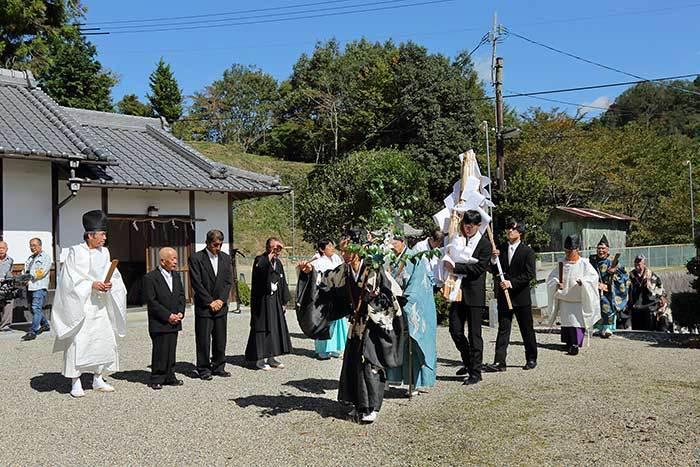柳生八坂神社 秋祭り2