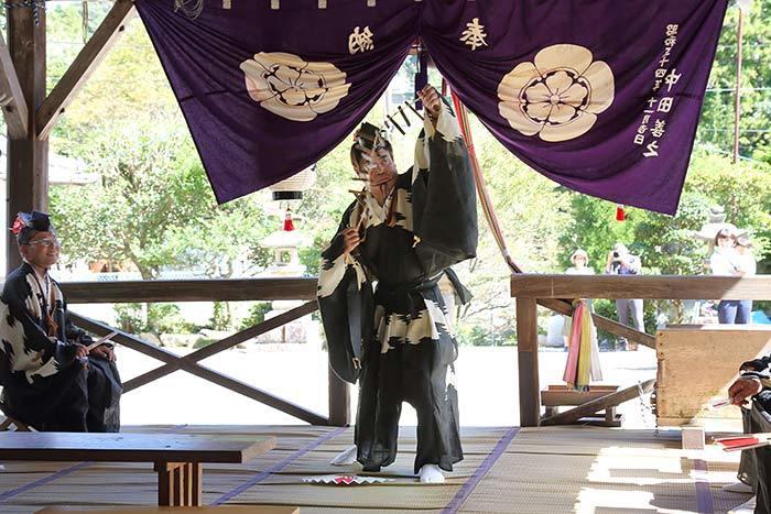 柳生八坂神社 秋祭り5
