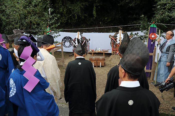 夜支布山口神社 秋祭り10