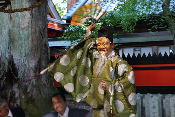 興ヶ原天満神社 翁舞4