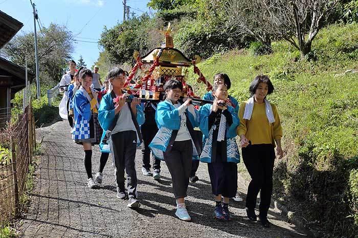 桃香野八幡神社 秋祭り10