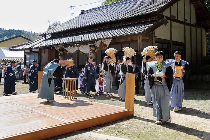 桃香野八幡神社 秋祭り2