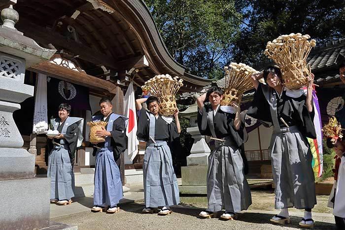 桃香野八幡神社 秋祭り3