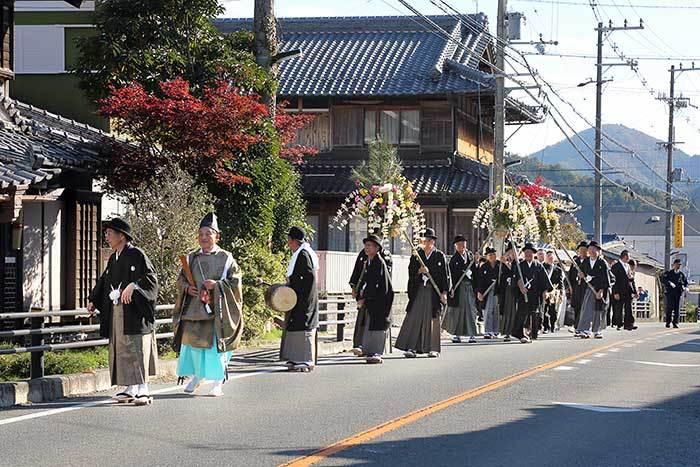 国津神社 ふる祭り1