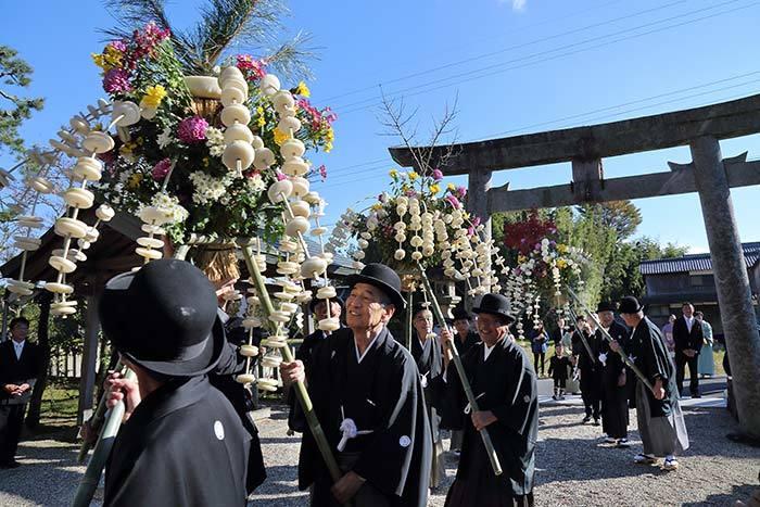 国津神社 ふる祭り2