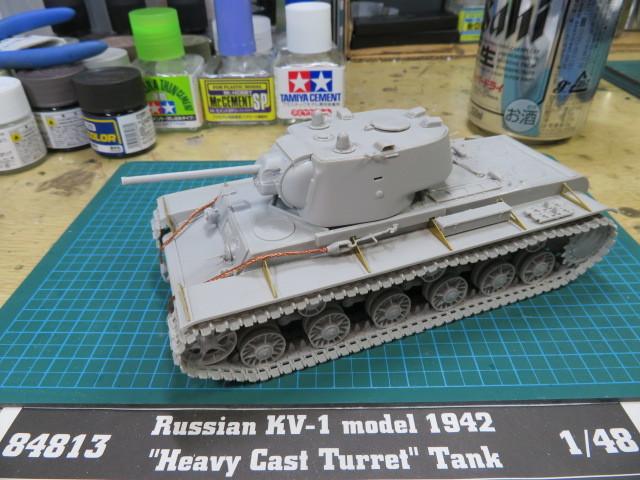 KV-1 1942 Hobby Boss 1/48 の3