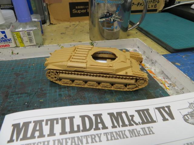 MATILDA MkⅢ/Ⅳ タミヤ 48 の1