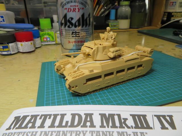 MATILDA MkⅢ/Ⅳ タミヤ 48 の2