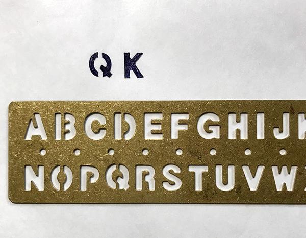アルファベットテンプレート
