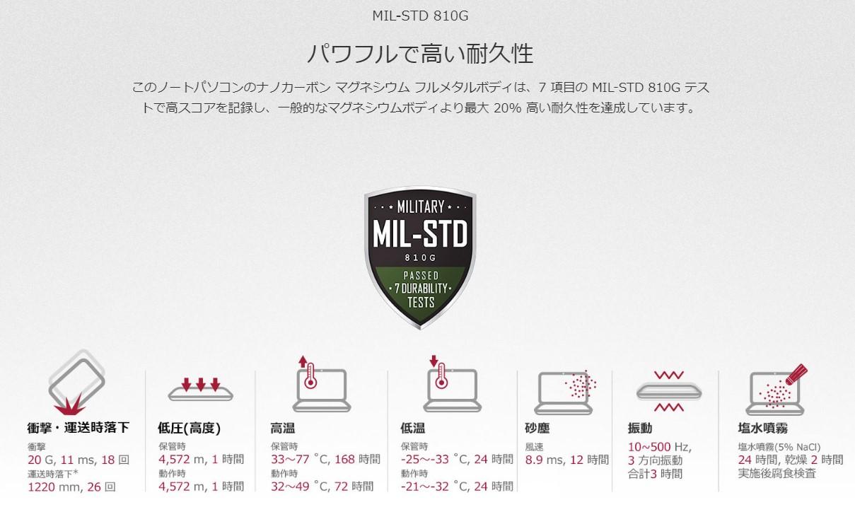 LG_gramMIL-STD 810G