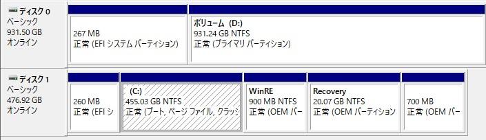 LG-gram_SSD_1T追加