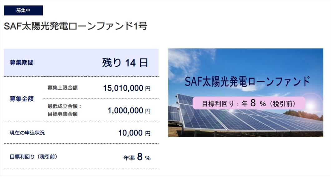 SAMURAI太陽光ファンド