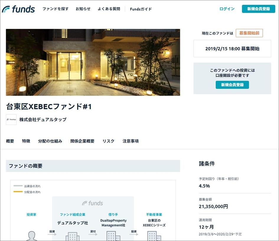 Funds台東区XBECファン