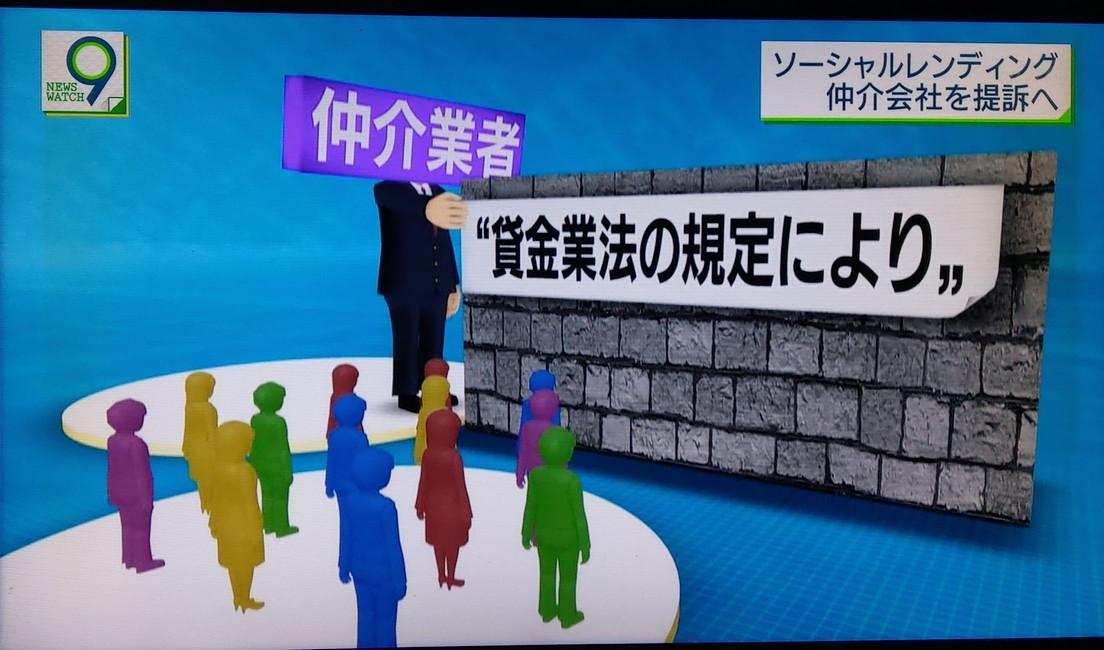 NHKソーシャルレンディング匿名化の指導