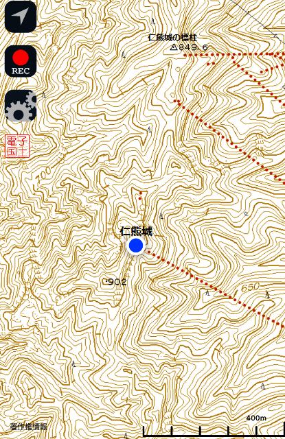 仁熊城(筑北村) (3)