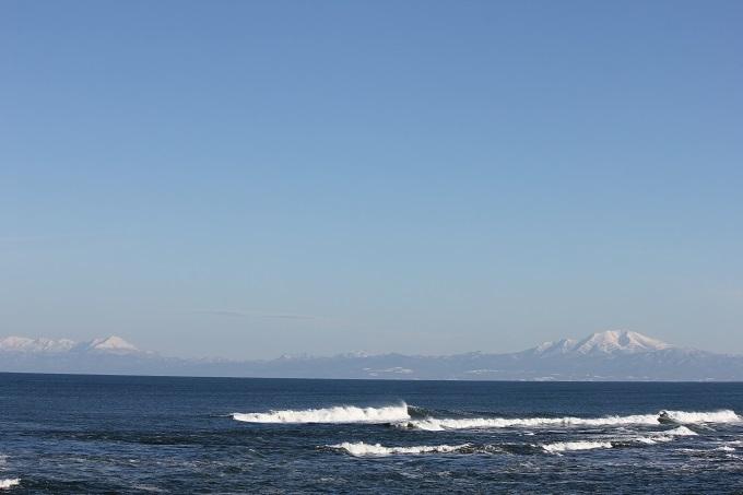 知床連山と海別岳