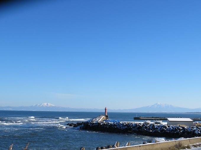 海別岳と斜里岳