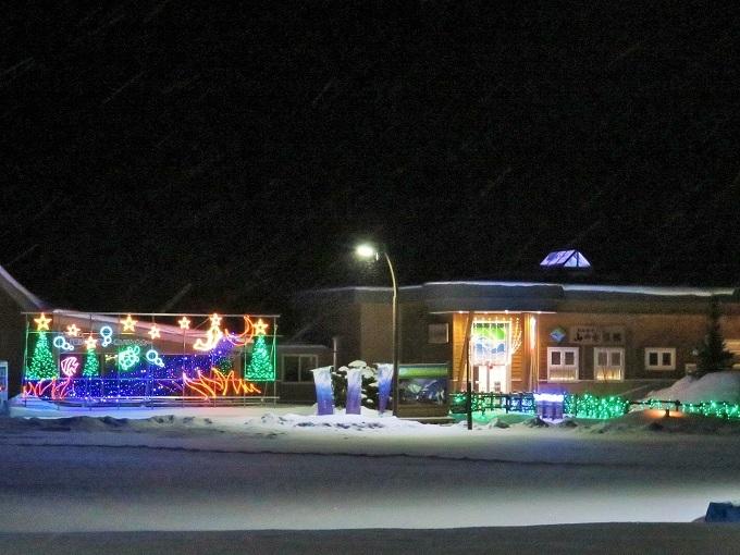 山の水族館ライトアップ