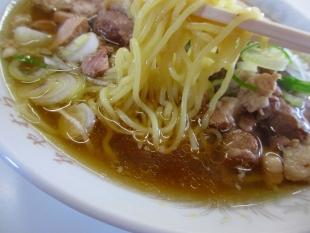 みやむら モツラーメン 麺スープ