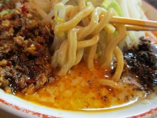 のろし安田店 担々麺 麺スープ