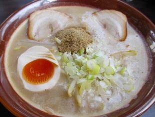 東横愛宕 檸檬豚骨釜揚つけ麺 つけ汁