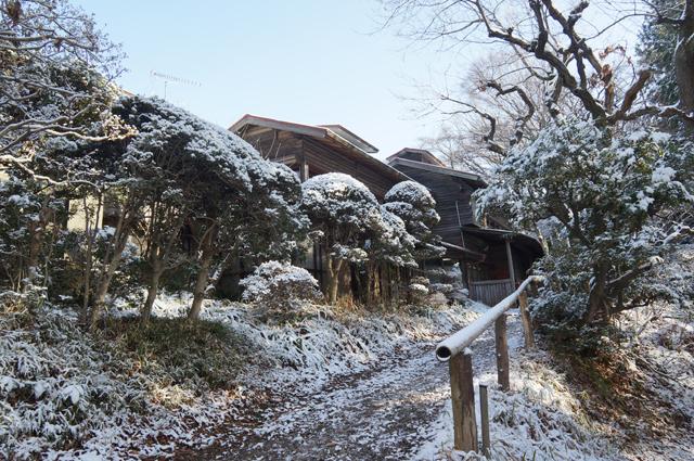 雪の鎌田鳥山