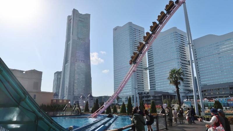 20180311Roller coaster a Yokohama (800x449)