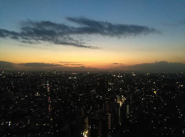 東京 日の出 日の入り
