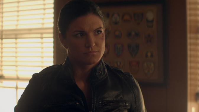 heist-Gina Carano as Kris