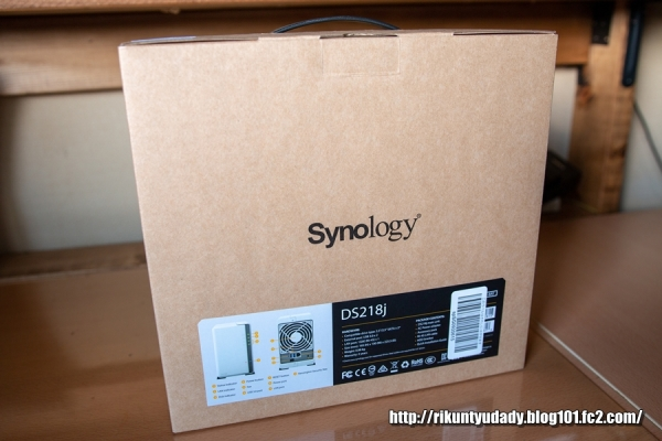 Synology_DiskStation DS218j-01