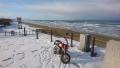 雪の千里浜