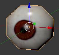 眼球のオブジェクト