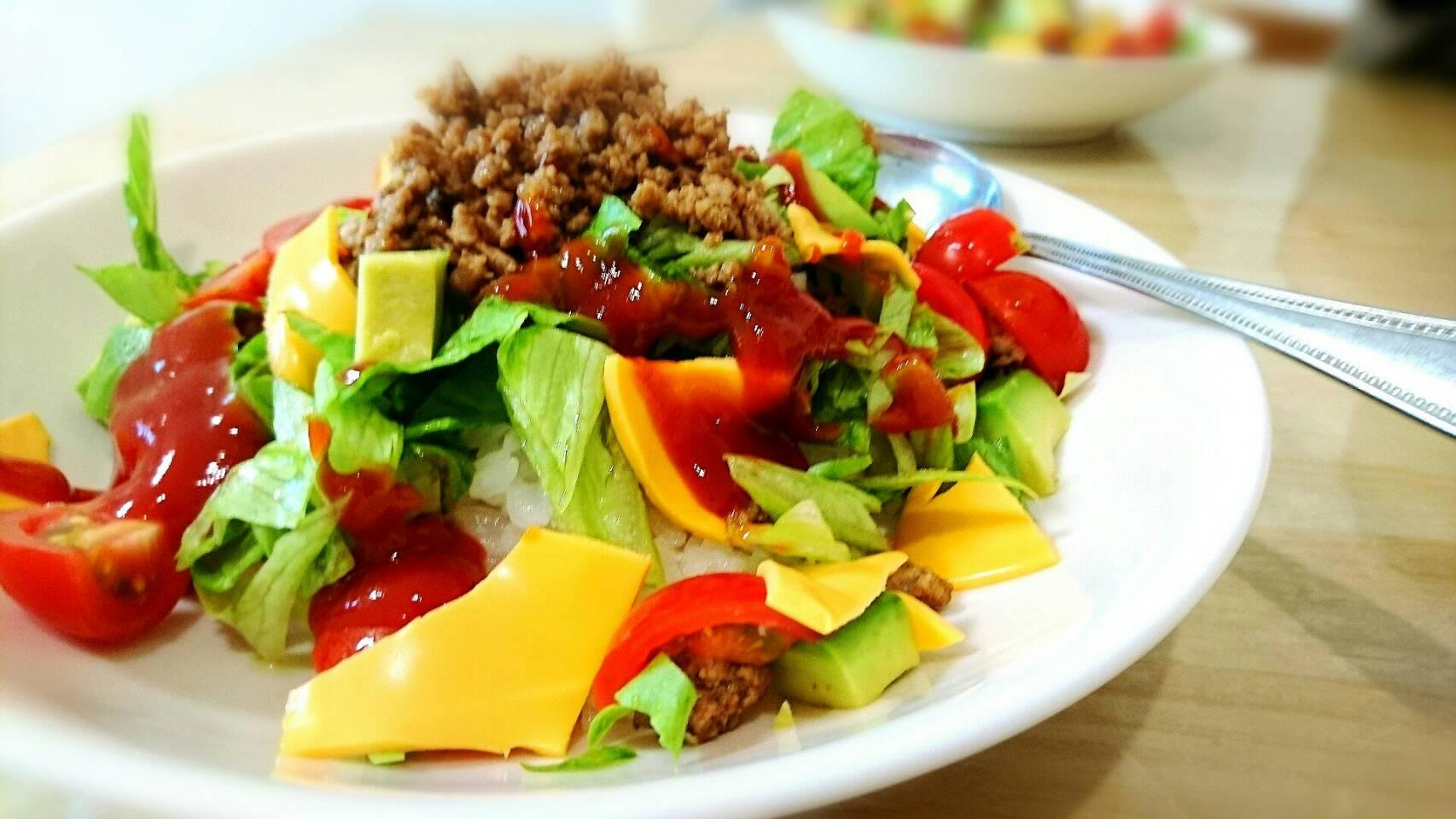メキシコ風 沖縄料理 タコライス