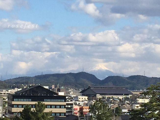 松江城→大山