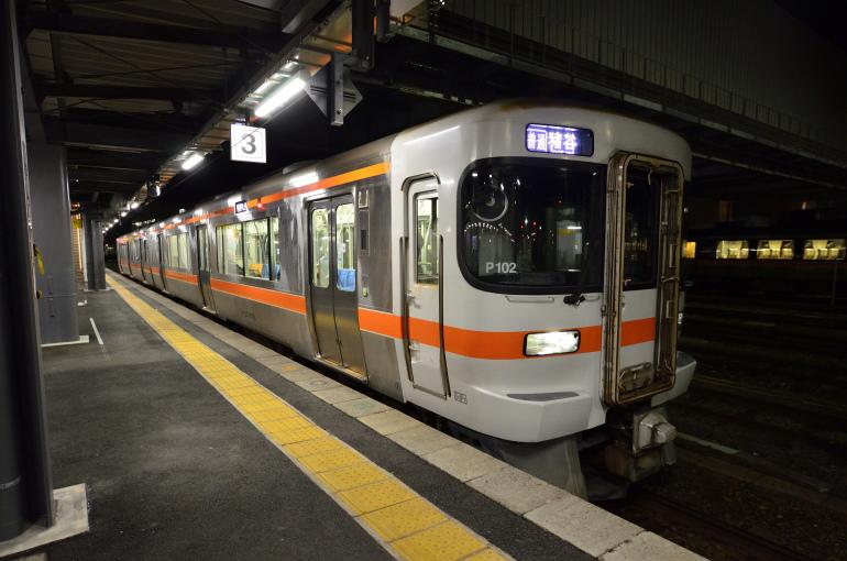 12/25-27 年末旅行2018 富山地鉄のたび その2(美濃太田→富山) 高山本線で富山へ