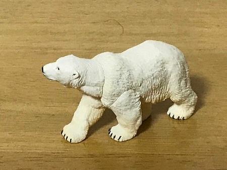 カプセルQWILDRUSHⅢ真・世界動物誌極地・北極編ホッキョクグマ
