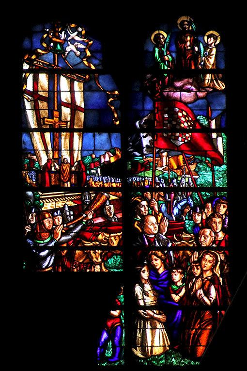 サン・シンプリチャーノ教会 ステンドグラス2