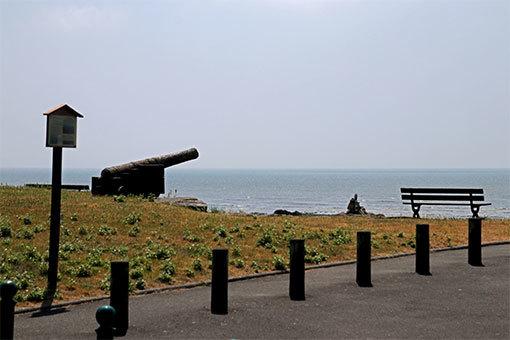 サン・ジャン・ル・トマ 海辺 砲台