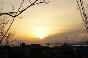 羽立峠から朝日2