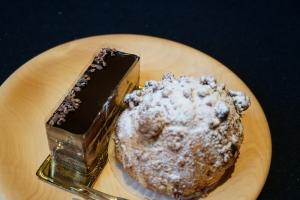 チョコとシュークリーム1