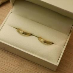 結婚指輪 10金