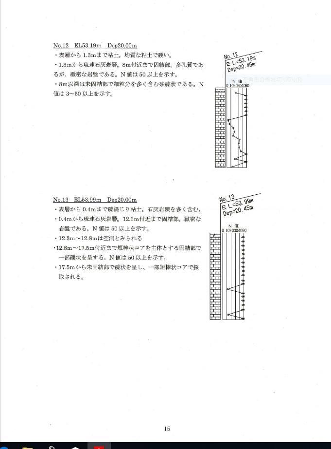 千代田ボーリング調査107