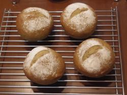 ほうじ茶豆パン