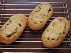 きのこのクリームチーズパン2