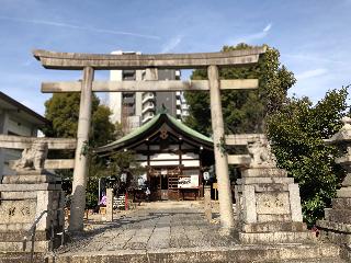 三輪神社三ツ鳥居