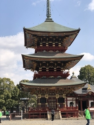 新勝寺三重の塔 (1)