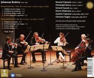 ブラームス 弦楽六重奏曲 カプソン、ハーゲン(ERATO) (2)