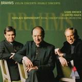ブラームス ヴァイオリンとチェロのための協奏曲 クレーメル、ハーゲン、アーノンクール(Teldec)
