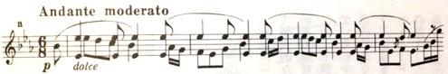 楽譜 ブラームス 間奏曲 変ホ長調