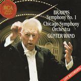 ブラームス 交響曲第1番、ギュンター・ヴァント シカゴ交響楽団(RCA )